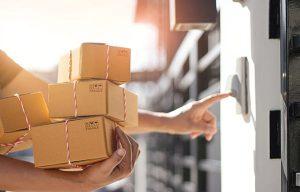 Logística Entrega paquetería venta online